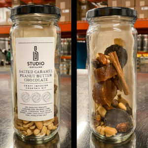 Salted Caramel Peanut Butter Chocolate Craft Infusion Cocktail Kit